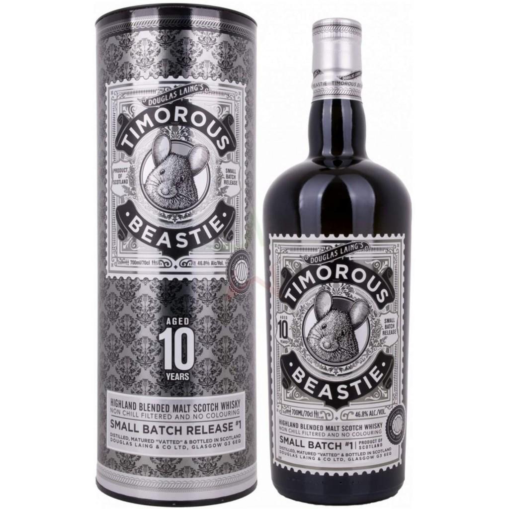 Whisky Timorous Beastie 10 Years Old - 46,8% - Douglas Laing's (astuccio)