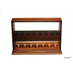 Castello - Palisandre pipe stand for 7 pipes