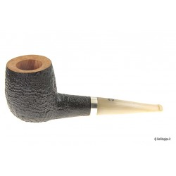 Il Ceppo group 1 sandblast with silver band and horn mouthpiece - Billiard