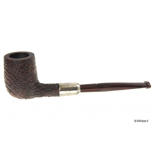 Pipa Dunhill Cumberland gruppo 2 - 2102 con a/m in argento