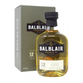 Whisky Balblair 12 Years Old - 46%