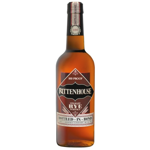 Rittenhouse Straight Rye Whiskey - 50%