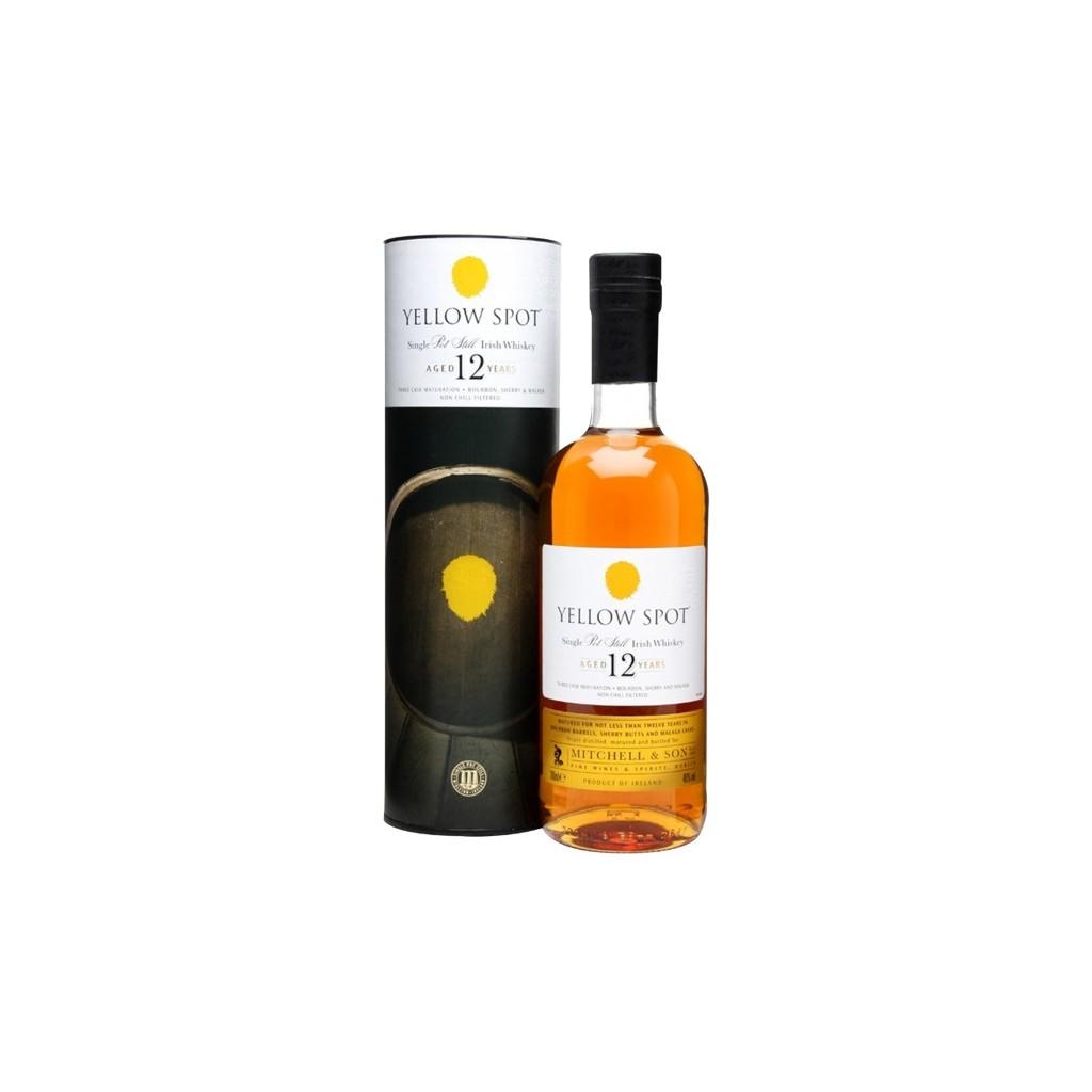 Mitchell & Son Yellow Spot 12 Y.O. Single Pot Still Irish Whiskey - 46%