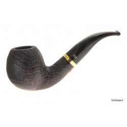 """Stanwell DeLuxe """"Brass"""" Sablée #185 - filtre 9mm"""