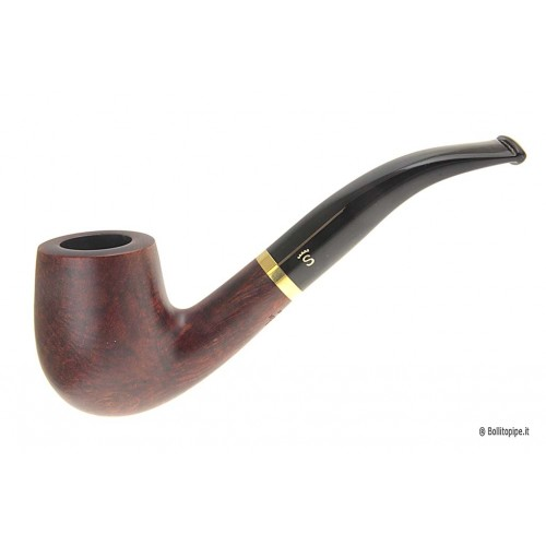 "Stanwell DeLuxe ""Brass"" Polished #246 - 9mm filter"