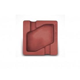 Les Fines Lames ceramic cigar ashtray - Dyad - Red