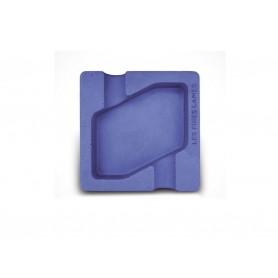 Les Fines Lames ceramic cigar ashtray - Dyad - Blue