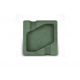 Les Fines Lames ceramic cigar ashtray - Dyad - Green