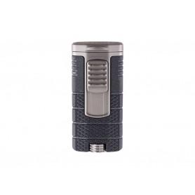 Briquet pour cigare Xikar Tactical Triple - Noir