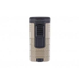 Briquet pour cigare Xikar Tactical Triple - Noir / Gunmetal