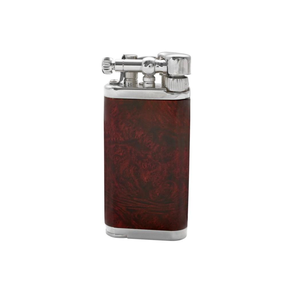 Savinelli Old Boy pipe lighter - dark red briar