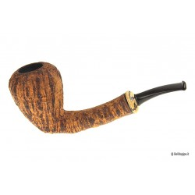 Duca pipe Barone (B) sandblast - Pear