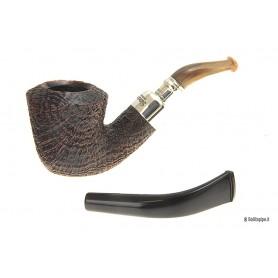 Pipa Peterson Army Spigot Horn B10 - con doppio bocchino