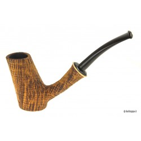 Duca pipe Barone (B) sandblast - Cherrywood