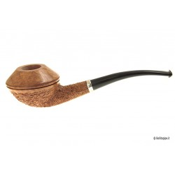Ser Jacopo R2 - A- Spongia Rusticated with silver band - Bent Rhodesian