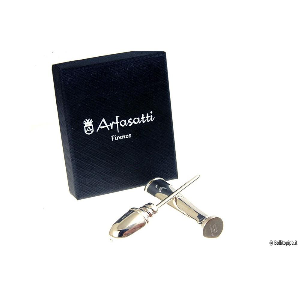 Aprieta tabaco de plata Arfasatti Firenze