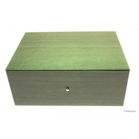 Humidor in green briarwood