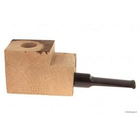 Ciocco di radica extra-extra con bocchino a sella in metacrilato cumberland - pipe dritte