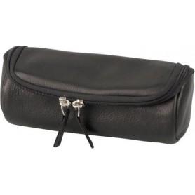 Bolsa en piel para 2 pipas y accessorios, 2 zip