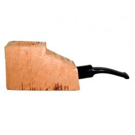 Bruyère troué avec tuyau saddle en acrylique pour pipes demi-courbes