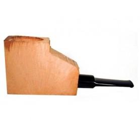 Ciocco di radica extra-extra con bocchino a sella in metacrilato - pipe dritte