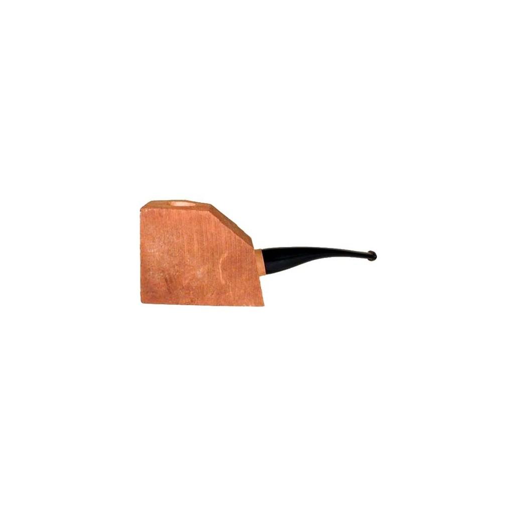 """Bloque brezo """"prima"""" con boquilla en metacrilado por pipas media-curvas"""