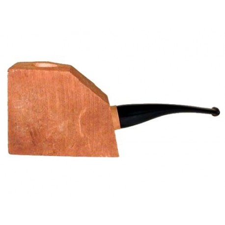 """Briar block """"first"""" bored and fitted with acrylic half-bent stem"""