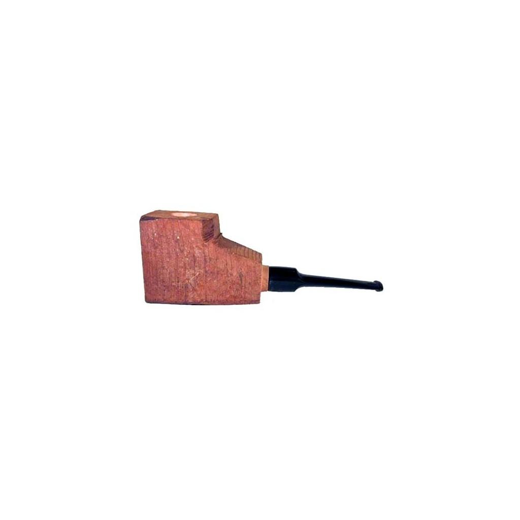 """Ciocco di radica """"prima"""" con bocchino a sella in metacrilato - pipe dritte"""