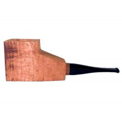 """Briar block """"first"""" bored and fitted with acrylic straight stem"""