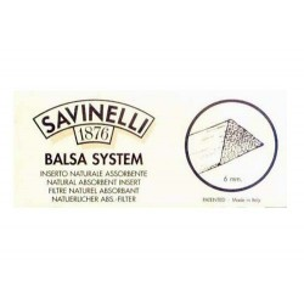 Filtros 6mm en balsa Savinelli