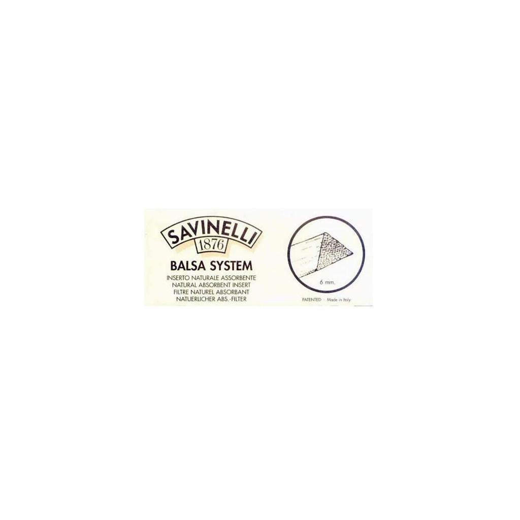 Filtri in balsa Savinelli 6mm