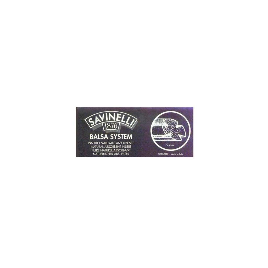 Filtros 9mm en balsa Savinelli