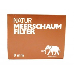 Meeschaum 9mm pipe filter (40 Filter)