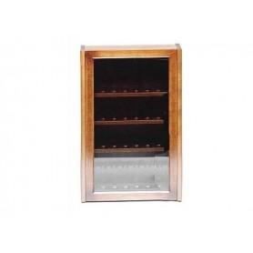 Vitrinas porta pipas de 32 lugares en nogal