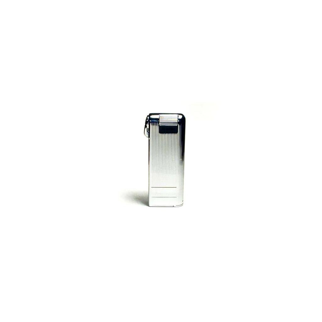 Savinelli-Corona Pipemaster Lighter - Chromium Vertical