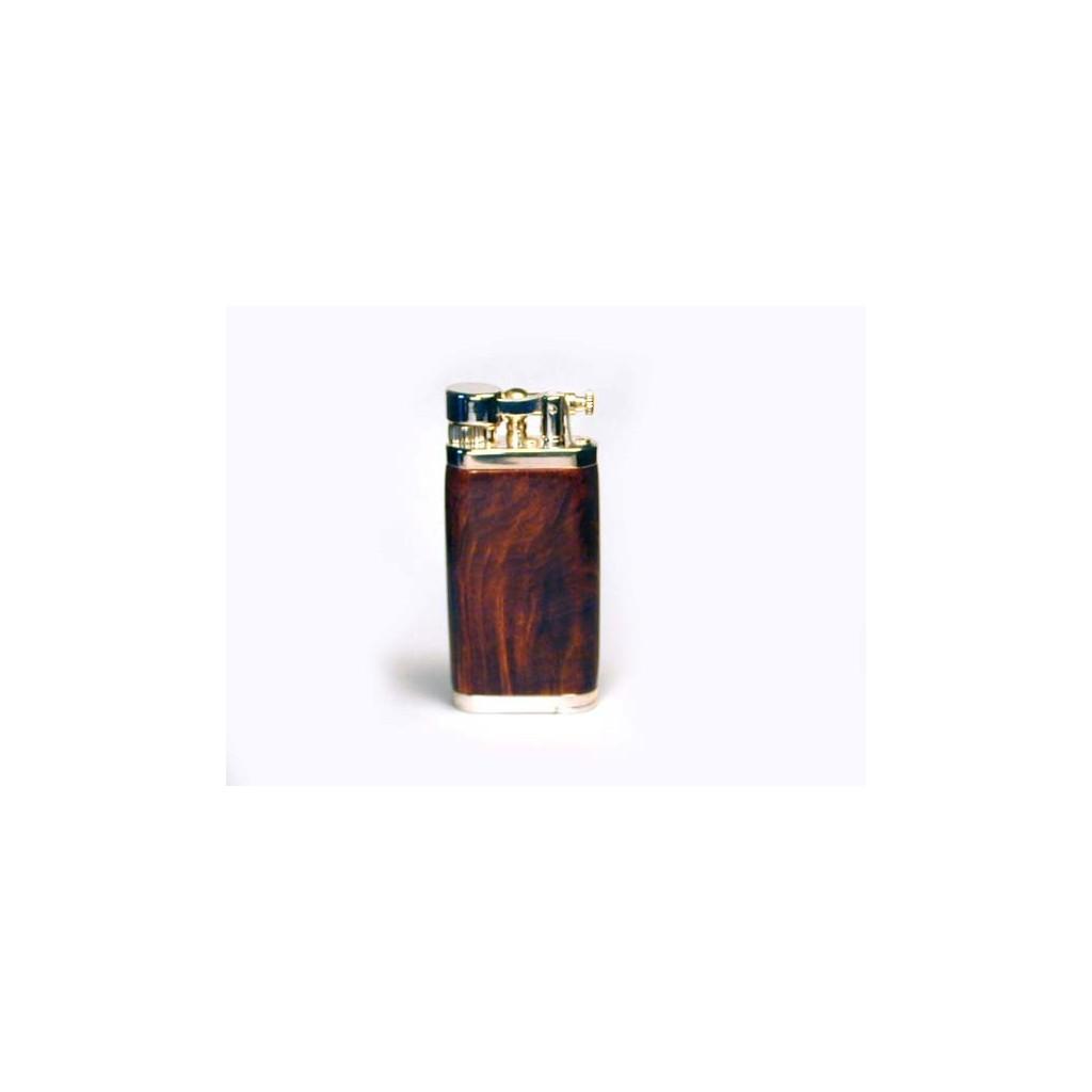 Mechero por pipa Savinelli Old Boy - brezo oscuro