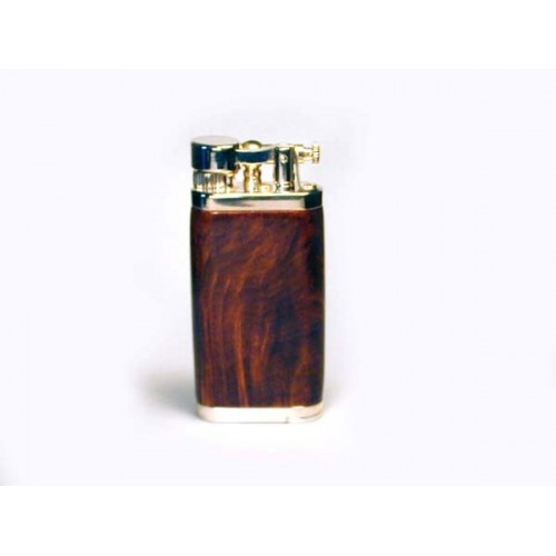 Savinelli Old Boy pipe lighter - brown briar