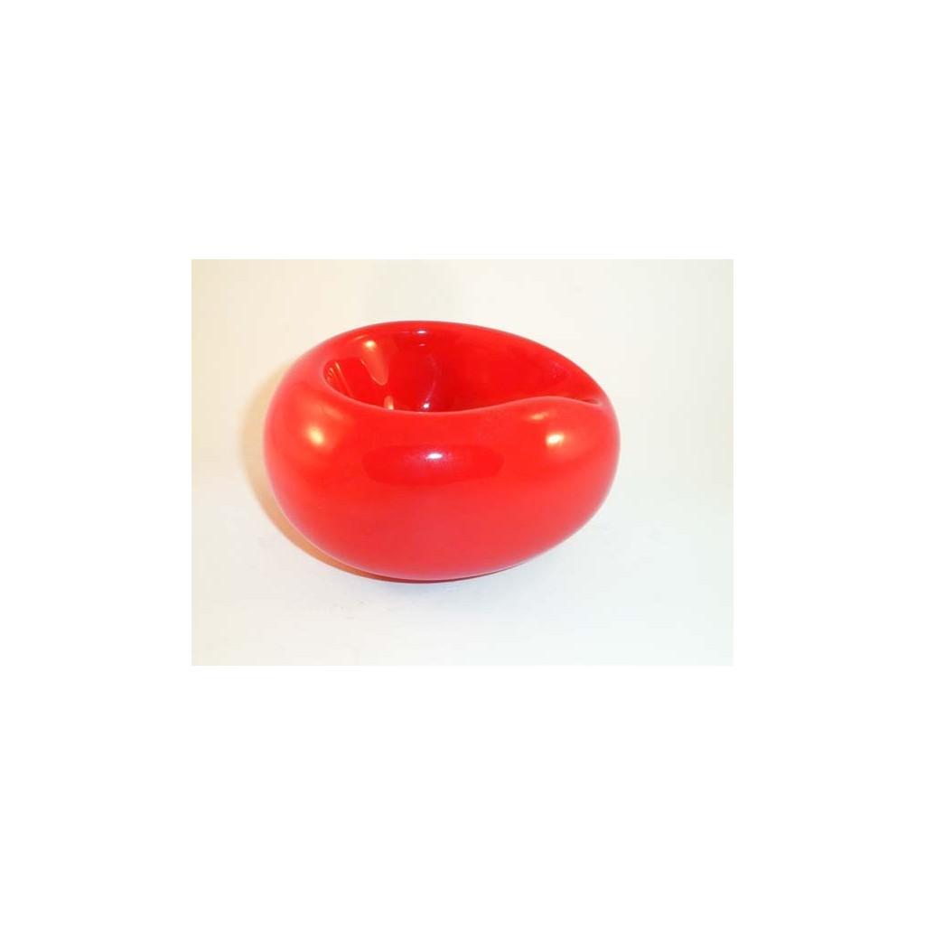 """Pose-pipes Savinelli """"Goccia"""" en céramique - Rouge"""