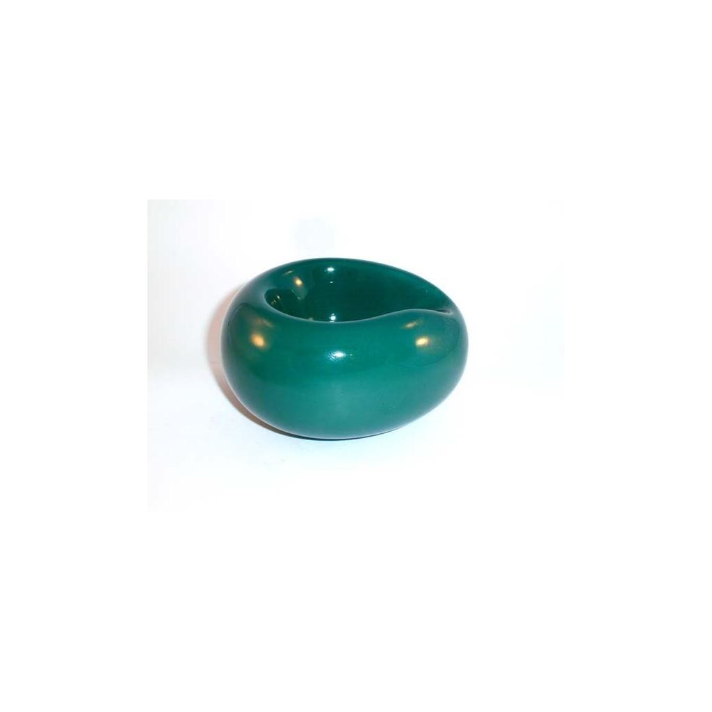 """Apoya pipa de cerámica Savinelli """"Goccia"""" - Verde"""