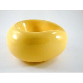 """Porta pipe Savinelli """"Goccia"""" in ceramica - Giallo"""