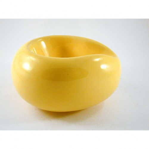 "Savinelli ""Goccia"" Ceramic Pipe Stands - Yellow"