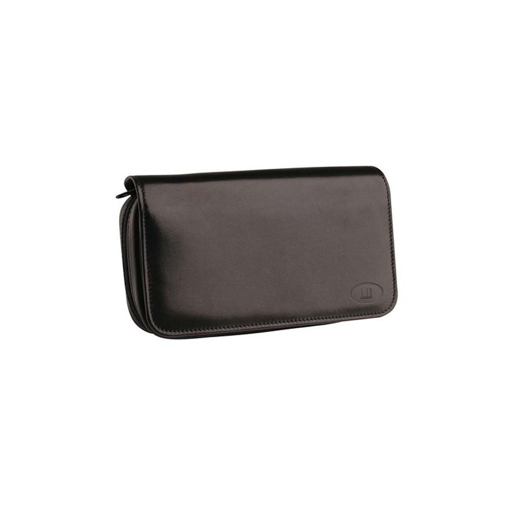 Alfred Dunhill Traditional borsa per 3 pipe, tabacco e accessori