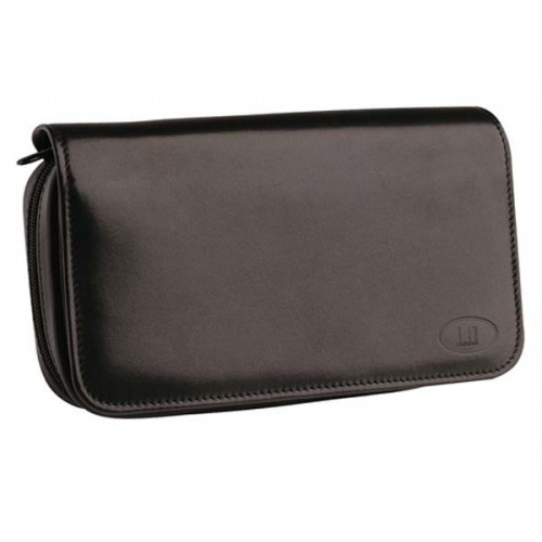 Alfred Dunhill Traditional sac pour tabac et 3 pipes en cuir