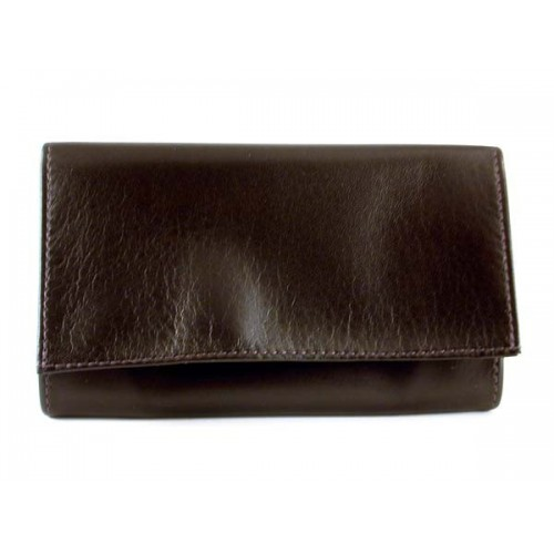 "Arcadia leather tobacco pouch ""Rotator"" - Dark Brown"