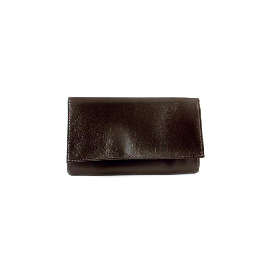 Arcadia sac pour tabac en cuir - Obscurité marron