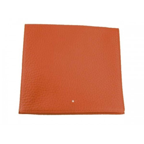 "Alfred Dunhill leather tobacco pouch Roll Up ""Terracotta"""