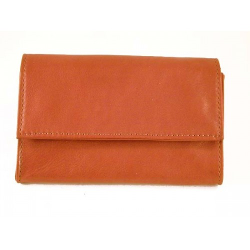 "Castello leather tobacco pouch ""Bauletto"" - Clear"