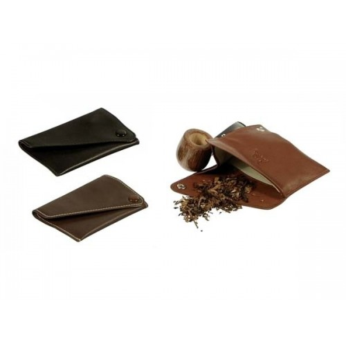 "Leather tobacco pouch ""west pocket"""