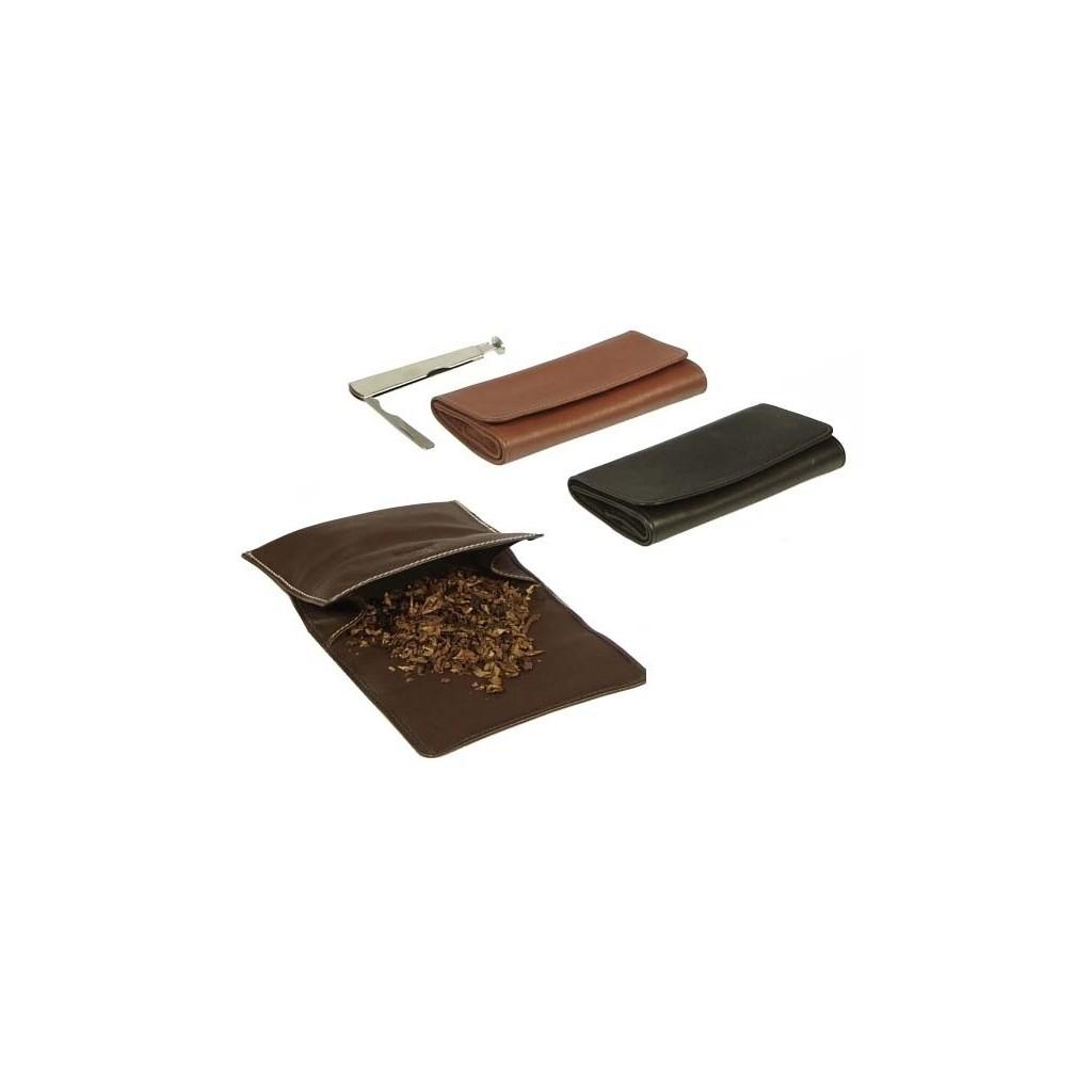 "Bolsa en piel para tabaco ""Roll up"""