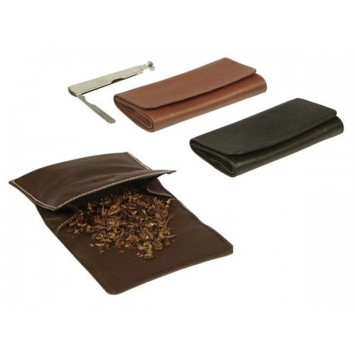 """Sac pour tabac en cuir """"Roll up"""""""